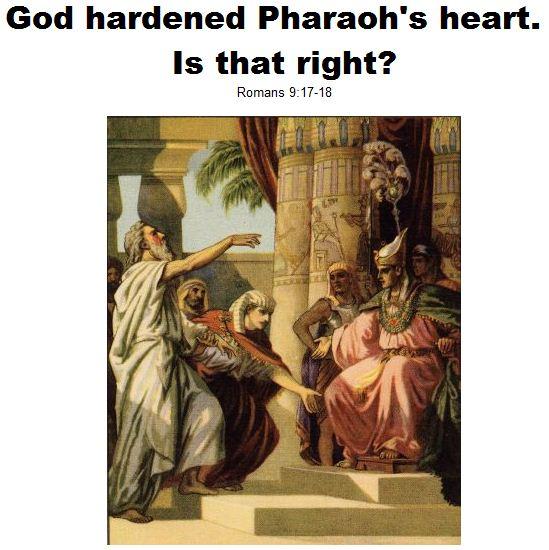Hardening Pharaoh's Heart | RayKLiu