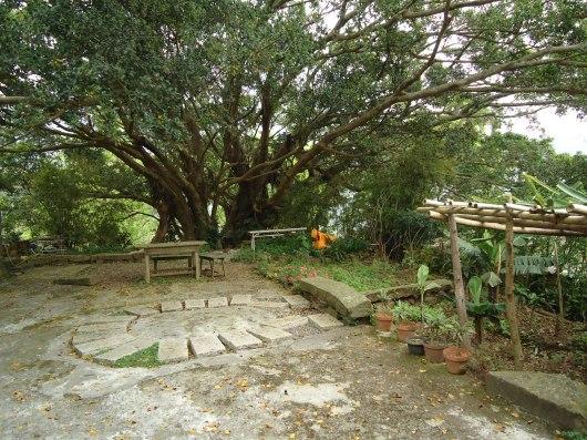 Elijah's Hut front yard