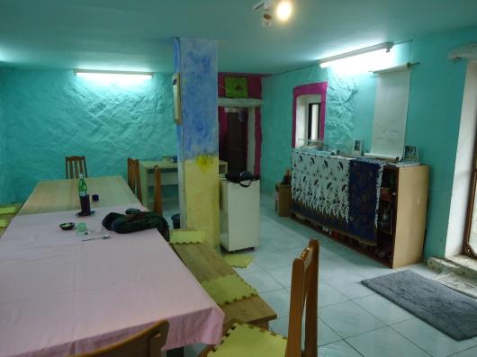 Art studio inside