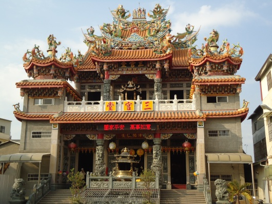 Temple around the block