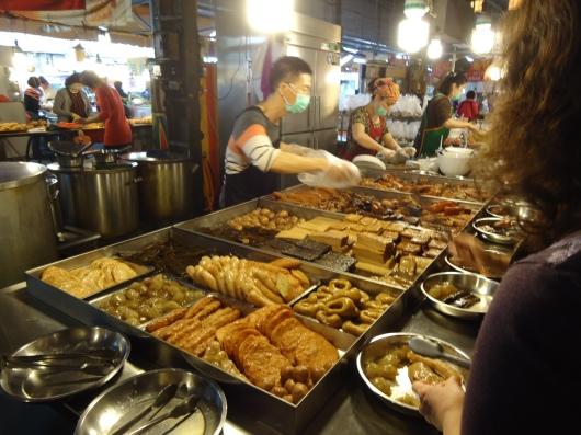Food stall within neighborhood market