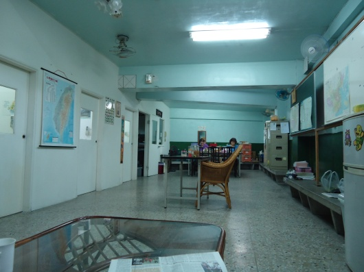 Taichung Language Center in basement