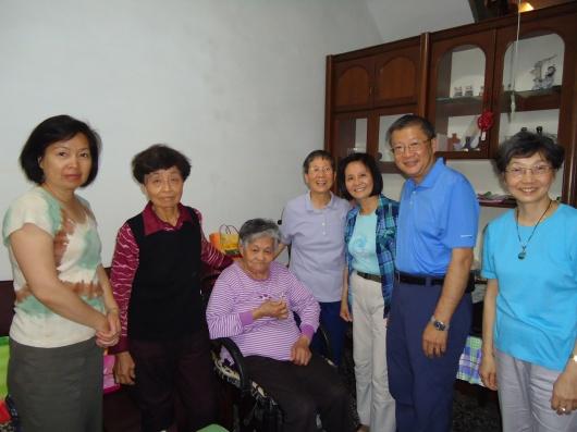 Visiting neighborhood families