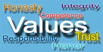 values 6