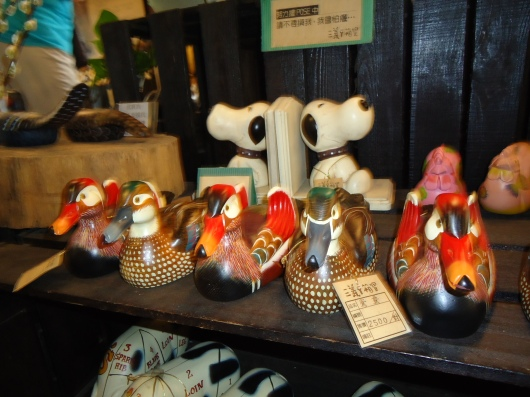 Duck carvings factory and showroom