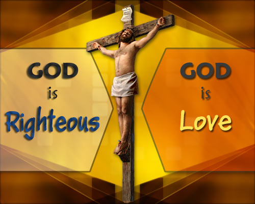 God's righteousness vs love