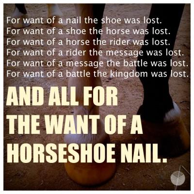 horseshoe nail 3