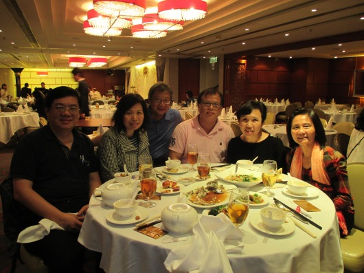 Dinner with MBC members who moved back to Hong Kong.