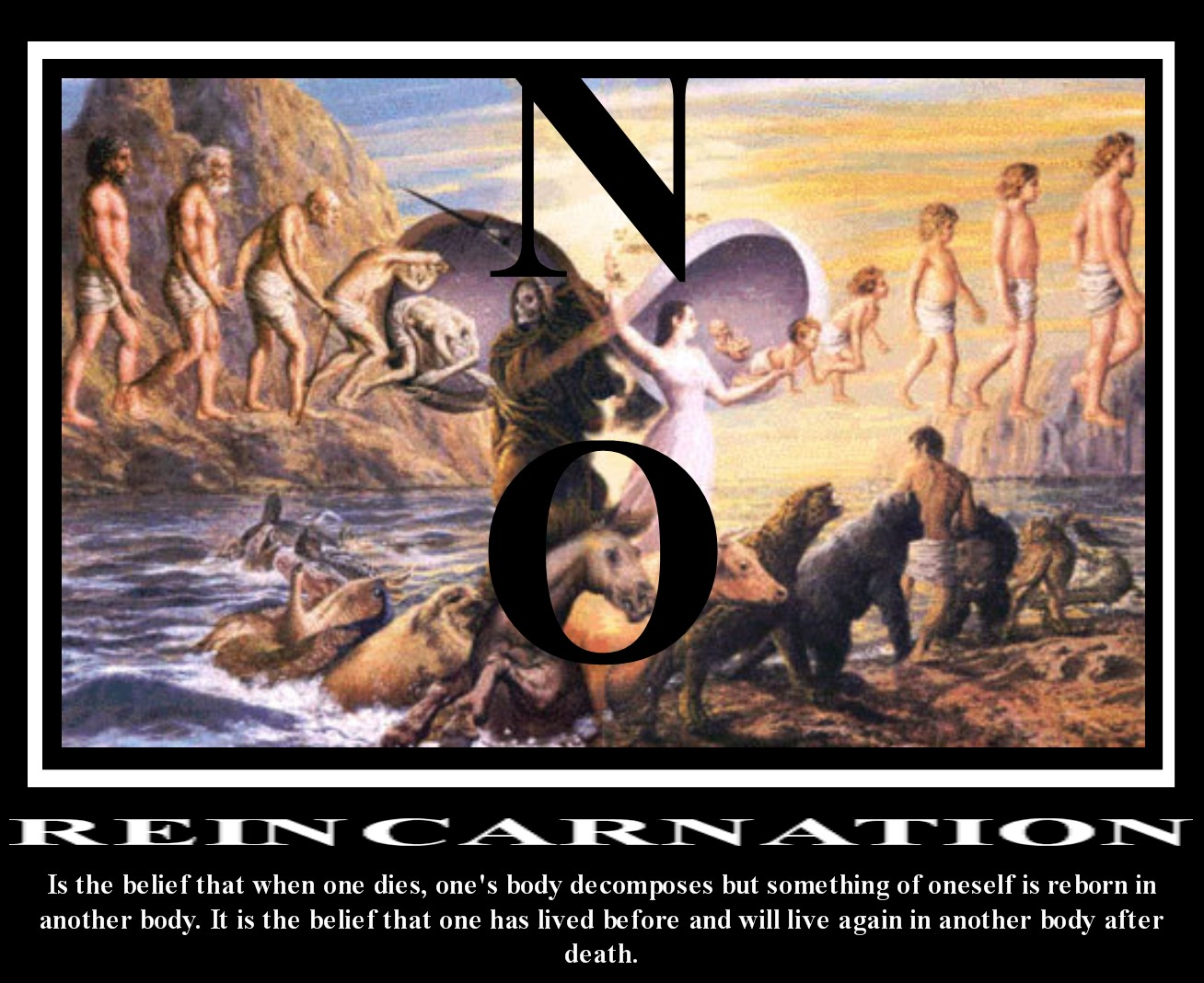 Reincarnation taken out of the bible