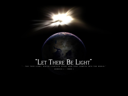let there be light 1