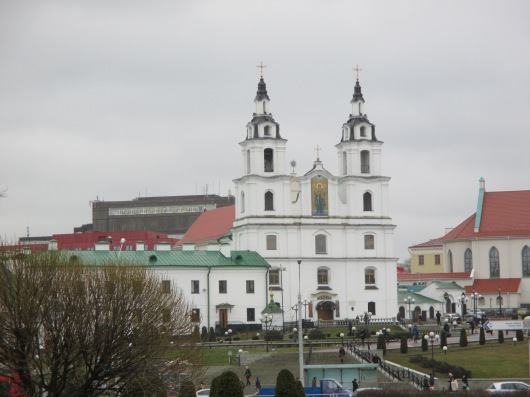 Well-known Orthodox Church downtown.