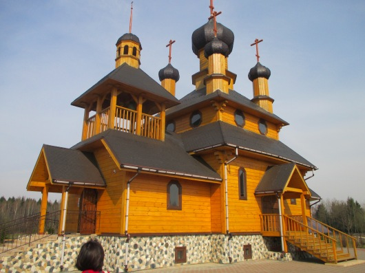 A functioning Orthodox church for the village.