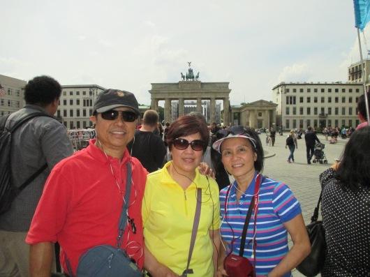 Brandenburg Gate, Berlin's triumphal arch.