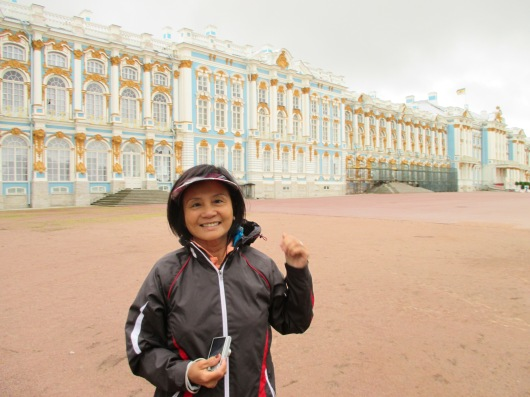 Catherine Palace, summer residence of czars.