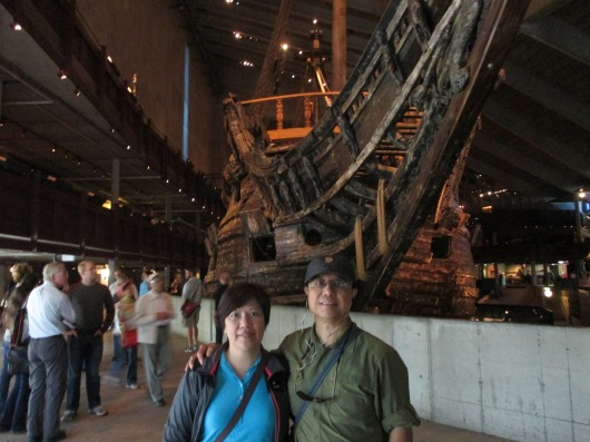 Vasa Museum, which houses a warship that sanked on her maiden voyage in 1628.