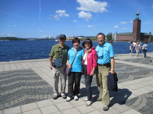 Stockholm harbour front