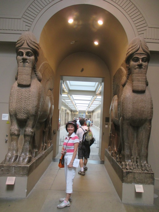 Sculptures from the palace of Tiglath-Pileser, the king of Assyria who took Israel into exile.