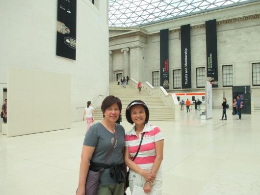 Lobby of British Museum.