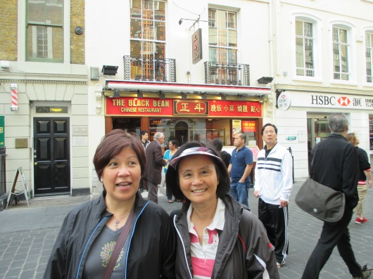 London Chinatown.