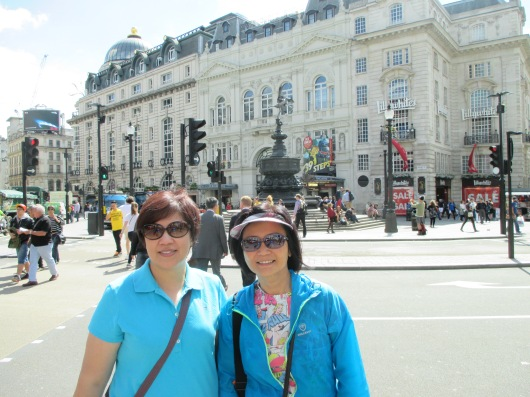 Piccadilly Circus is actually a road junction, not a circus.