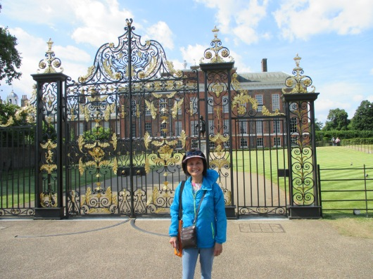 Kensington Palace, Prince William & Kate's residence.