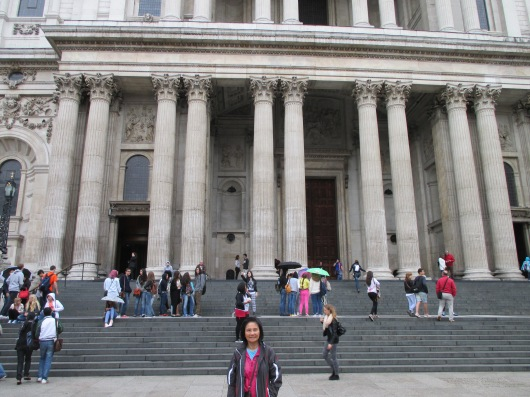 St. Paul's Cathedral, the church of the common people as opposed to Westminster Abbey, the church of lords.