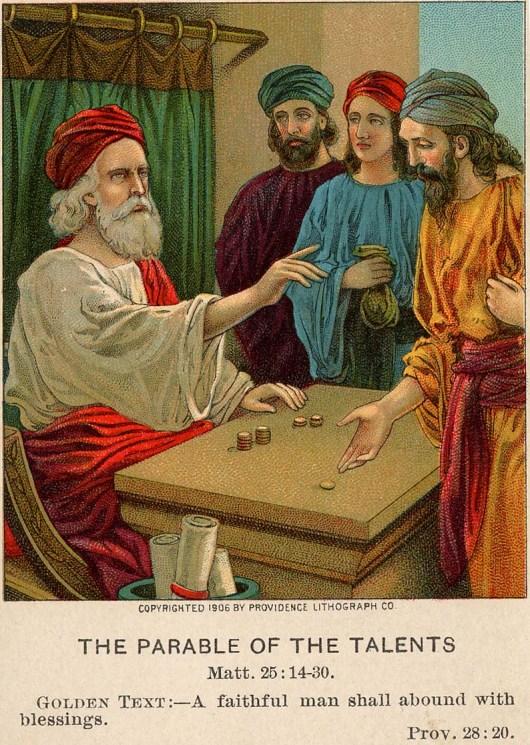 parable talents 1