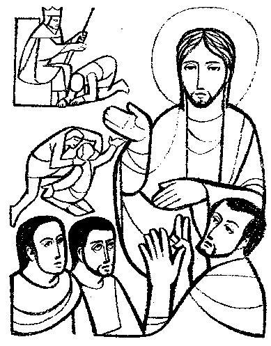 Parable of unforgiving servant raykliu for Parable of the unforgiving servant coloring page