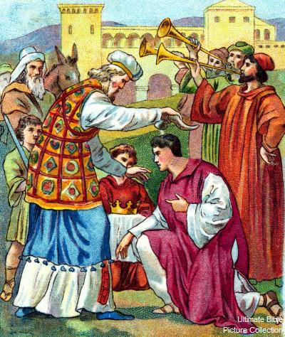 Solomon crowned king 1