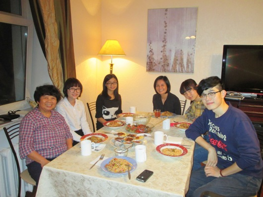 Dinner with some more students. Food diplomacy!