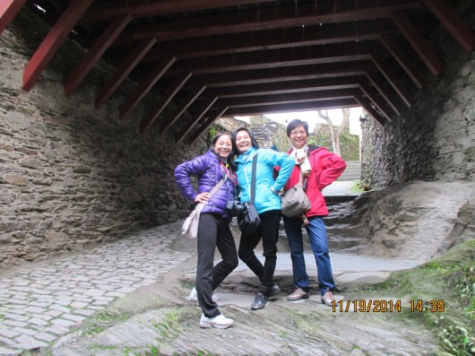 Castle passageway.