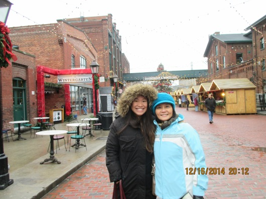 Toronto Christmas Market in Distillery District