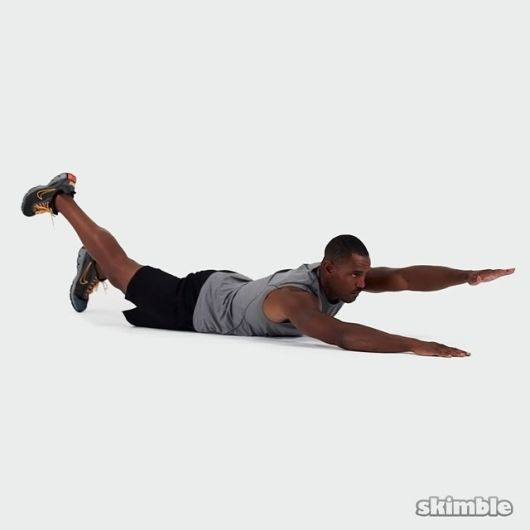 contralateral limb raise 1