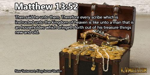 Matthew 13 52