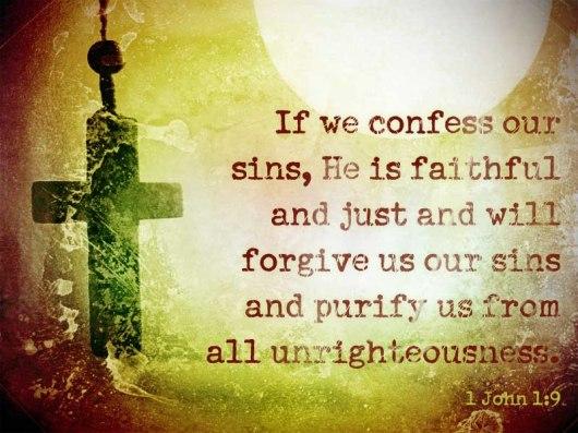 1 John 1 9 b
