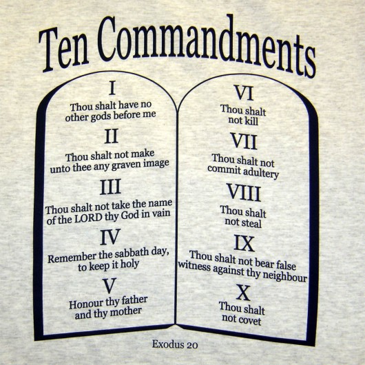 10 commandments 8