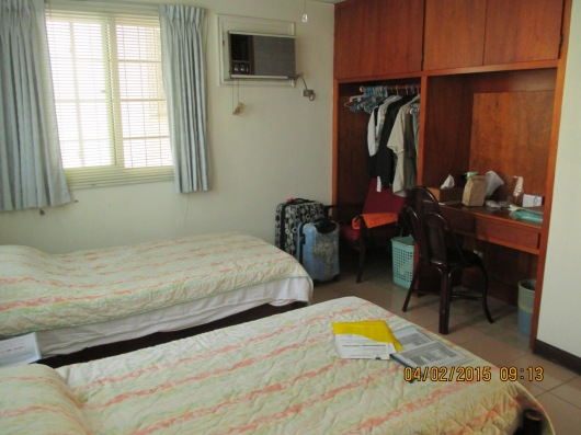 Our en suite bedroom. There are 3 bedrooms on the 2/F with a capacity for 10 people.