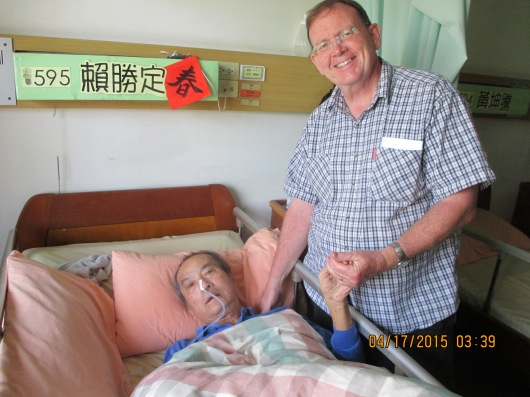 Visiting the sick in a nursing home