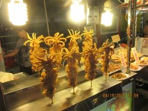 Deep fried cuttle fish