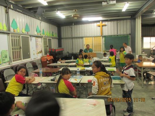 Tutoring elementary school students
