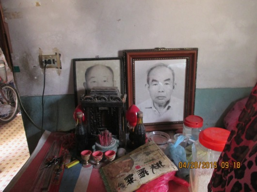 Shrine of our sister's deceased landlord