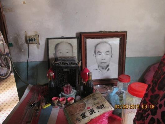 Shrine of our sister's deceased landlord