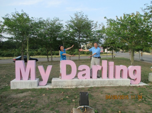 "Dalin, also affectionately called ""Darling"""