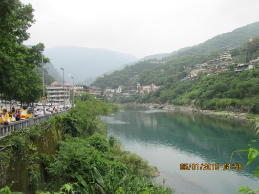 Wulai, the famous hot springs district south of New Taipei City