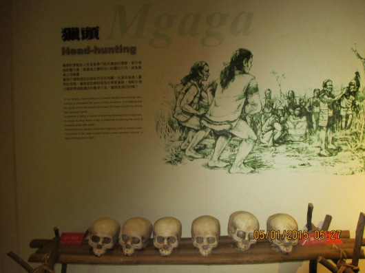The Atayal used to be head-hunters.